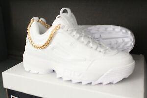 Fila Disruptor CHAIN Low Sneaker Damen Fila Lifestyle Shoes Womens weiß Größe 39