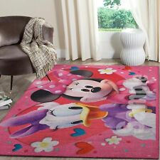 Minnie Mouse Area Rugs Disney Movies Living Room Carpet