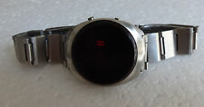 orologio LED TISSOT RESEARCH Quartz vintage Watch digital Rare