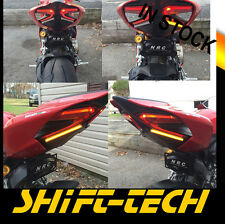 ST1112 DUCATI 1299 1199R PANIGALE TAG BRACKET TAIL TIDY PLATE   LED TURN SIGNALS