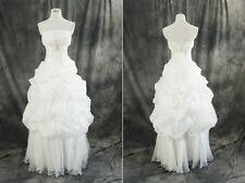 Br-05 taille S-M robe de mariée Robe de Mariage bridal robe blanc mariage robe