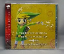 NEW Wii The Legend of Zelda The Wind Waker HD Sound Selection Soundtrack CD