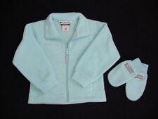 NWT Girls COLUMBIA Fleece Jacket  Mittens 4 5 XS Coat Benton Springs Sweater NEW