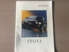 Catalogue brochure Katalog Prospekt TOYOTA CELICA 2000 GT ANNEE 1994 22 Pages