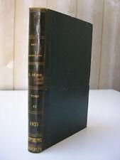 Revue britannique 1837 / littérature philosophie italienne Islande aurores borea