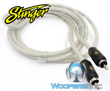 STINGER SI486 6 FT 4000 VIDEO COMPOSITE CABLE CORD WIRE RCA PLUG ADAPTER NEW