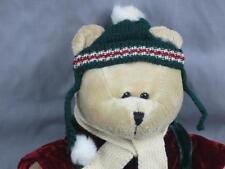 STARBUCKS 42ND ED 2005 CHRISTMAS BEARISTA TEDDY BEAR PLUSH STUFFED WINTER HAT