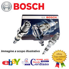 KIT 4 CANDELE BOSCH FIAT QUBO 1.4 NATURAL POWER 57KW