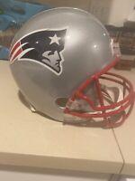 New England Patriots Riddell Helmet Full Size NFL Football