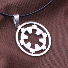 Classic movie star wars Galactic Empire sigh pendant necklace 1pcs