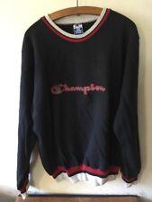 New Old Stock Vintage Champion Sweatshirt Big Logo 1990s Hip Hop Sz Large