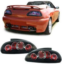 Klarglas Rückleuchten schwarz für MG F Cabrio RD TF 95-05