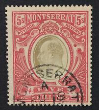 MOMEN: MONTSERRAT SG #47 1909 USED £85 LOT #153