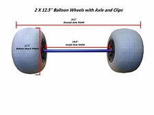 """12.5"""" Balloon Beach Wheels with Axle Kit"""