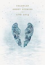 COLDPLAY - GHOST STORIES LIVE 2014  CD + BLU-RAY NEW+