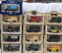13 LLEDO DG LP 33 34 66 Dennis Delivery vans BBC Jif Tetley Hovis Edinburgh Fire