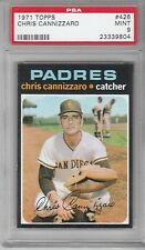 1971 Topps Baseball Chris Cannizzaro #426 PSA 9