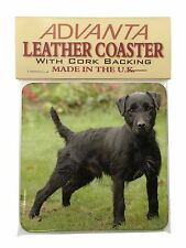 Fell Terrier Dog Single Leather Photo Coaster Animal Breed Gift, AD-FT1SC