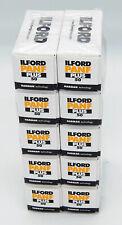 Ilford lot de 10 films PANF 120 50 ISO,  utilisable jusqu'à juillet 2021