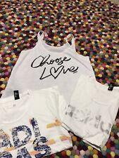 Women's *~*ADIDAS*~*   LORNA JANE  T-shirt Top Size    S 8 10