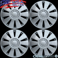 "4 NEW OEM SILVER 16"" HUB CAPS FITS MERCURY SUV CAR ABS CENTER WHEEL COVERS SET"