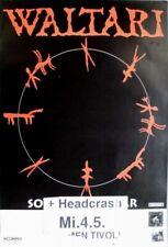 WALTARI - 1994 - Konzertplakat - Headcrash - So Fine - Tourposter - Bremen