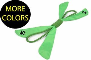Extreme Bow knotted Squeak Rope Chew Pet Dog Toy Toys