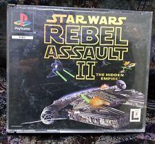 Play Station Spiel PS1 Rebel Assault 2 - Star Wars (siehe Bild) + Anleitung