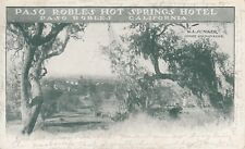 Paso Robles Hot Springs Hotel, Junker Manager canceled 1907 P16