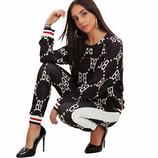 Woman Suit Set Fantasy Two Pieces Top Trousers Sport Toocool JL-19250