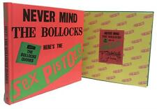 Signed Book - The Sex Pistols 1977 Never Mind The Bollocks Diaries by John Lydon