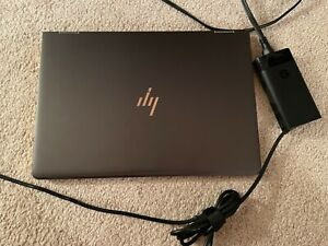 """HP Spectre x360 Touchscreen 14"""" Laptop with Charger in Nightfall Black"""