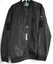 Hk Army Paintball Bomber Jacket Black Lightweight Water/Wind Proof 2Xl Size