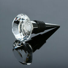 Diamond Crystal Stainless Steel Champagne Stopper Sparkling Wine Bottle Plug Sea