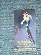 """PAULA ABDUL  Japan 1991 Tall 3""""CD Single VIBOLOGY"""