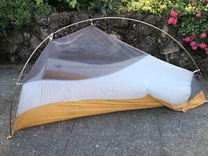 Big Agnes Fly Creek UL1 Ultralight Tent 2.4 lbs Quick Setup Cycling Backpack