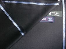 Dormeuil 88% SUPER 120's WOOL+8% MOHAIR+ 4%CASHMERE FLANNEL SUITING FABRIC-3.4 m