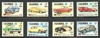Album Treasures Gambia Scott # 620-627  Classic Automobiles MNH