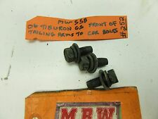 ELANTRA TIBURON BOLTS REAR TRAILING ARM BACK LOWER CONTROL ARM REAR LEFT RIGHT