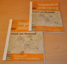 Elektrik am Motorrad Zündanlagen Elektro Strom 2 Bände Reparaturanleitung B5008