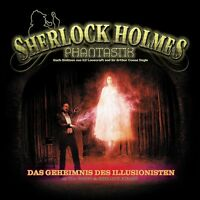 SHERLOCK HOLMES PHANTASTIK 02-DAS GEHEIMNIS DES ILLUSIONISTEN 2 CD NEU