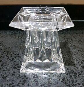 Beautiful Genuine Partylite Quad Prism Small Pedestal (P7967) Rare/Retired *VGC*