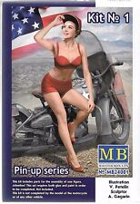 Master Box Pin Up Girl, Gal (40s-50s) Marylin in 1/24 Kit No. 1, 24 001 St