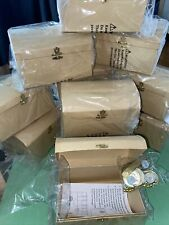 Oriental Trading Company Set Of 12 Treasure Chest Boxes with bag of decorations