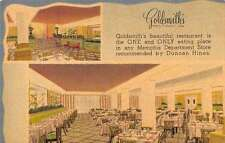 Memphis Tennessee restaurant Goldsmiths store linen antique pc Z17918