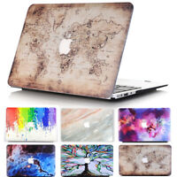 Colorful Cut-Out Hard Case Cover for Macbook Air Pro 13 inch & Pro 13 Touch Bar