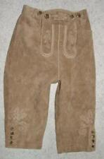 """ LANDHAUS "" Kinder- Trachten- LEDERHOSE / Trachtenhose in beige Gr. 134"