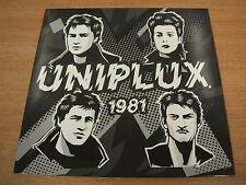 uniplux 1981 2016 rave up records vinyl reissue ru 81   ltd of 500 mint / new