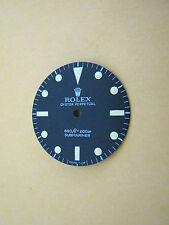 ~ Rolex Vintage #5513 Submariner Matte Black Refinished Dial ~