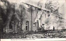 Ware. Burning of the Victoria Malting House by J.Lee, Ware. Fire.